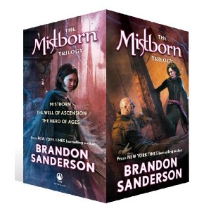 The Mistborn Trilogy by Brandon Sanderson